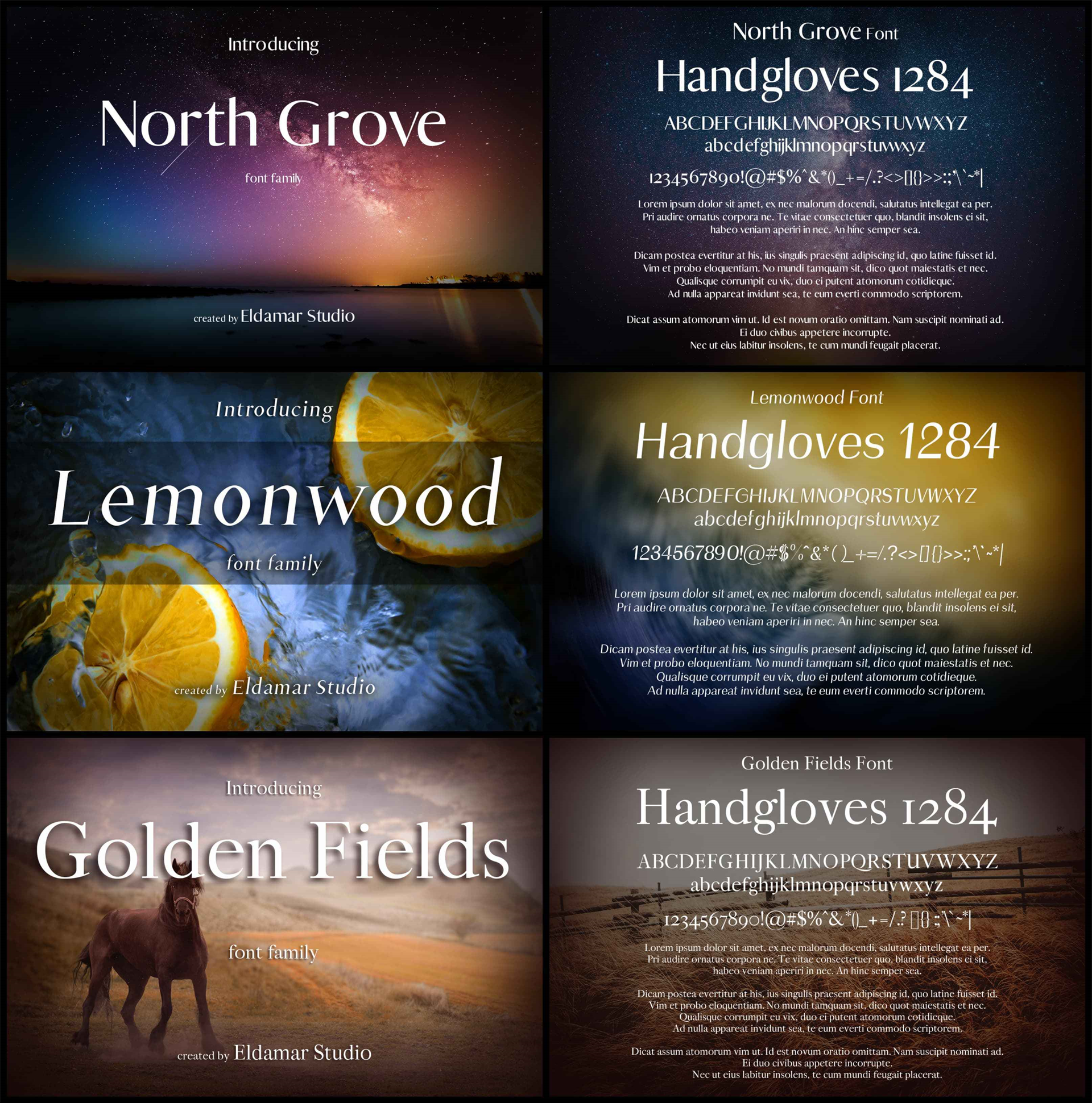 40 Creative Fonts Screenshot