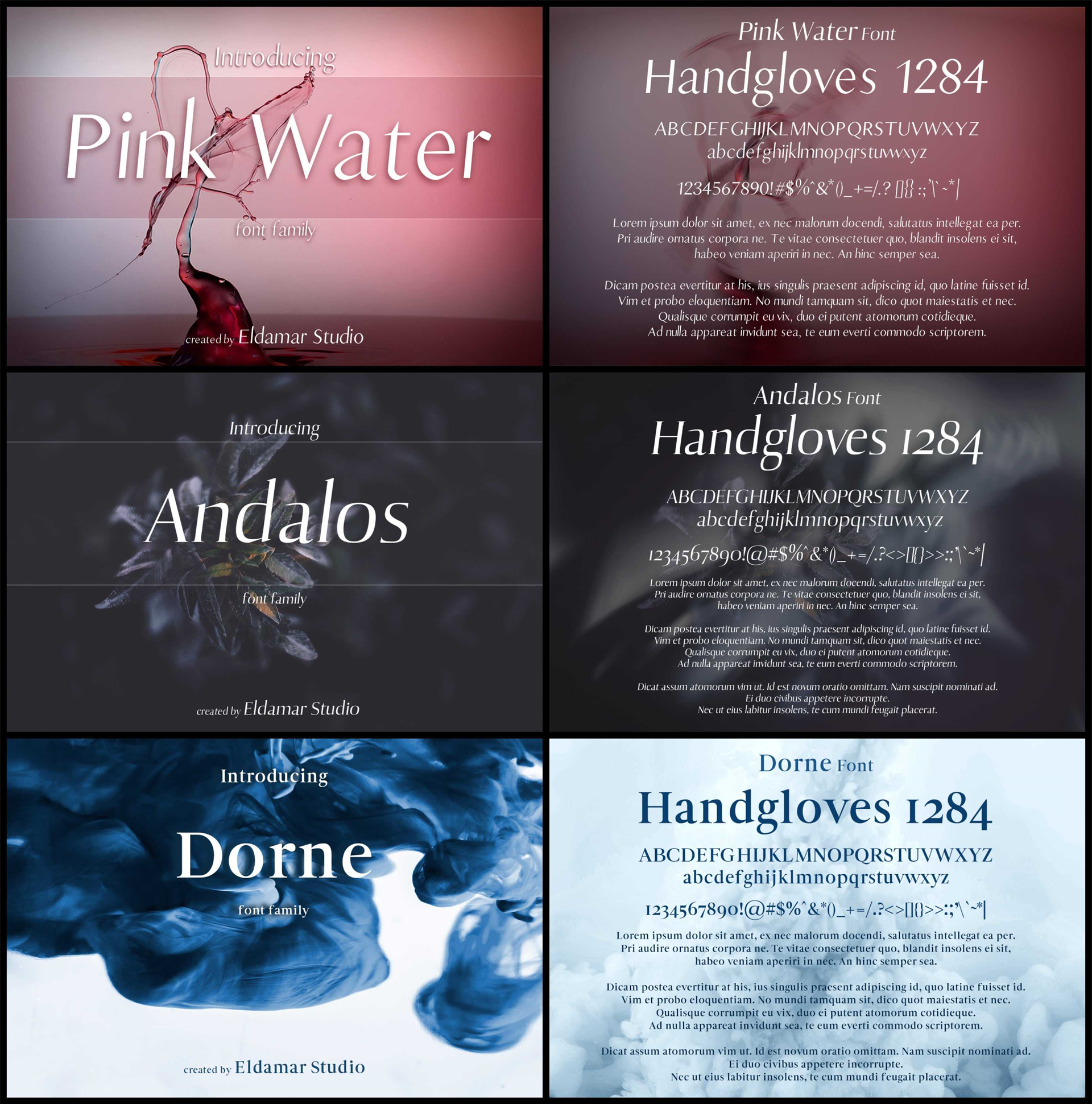 Fonts and Font Tools Software, 40 Creative Fonts Screenshot