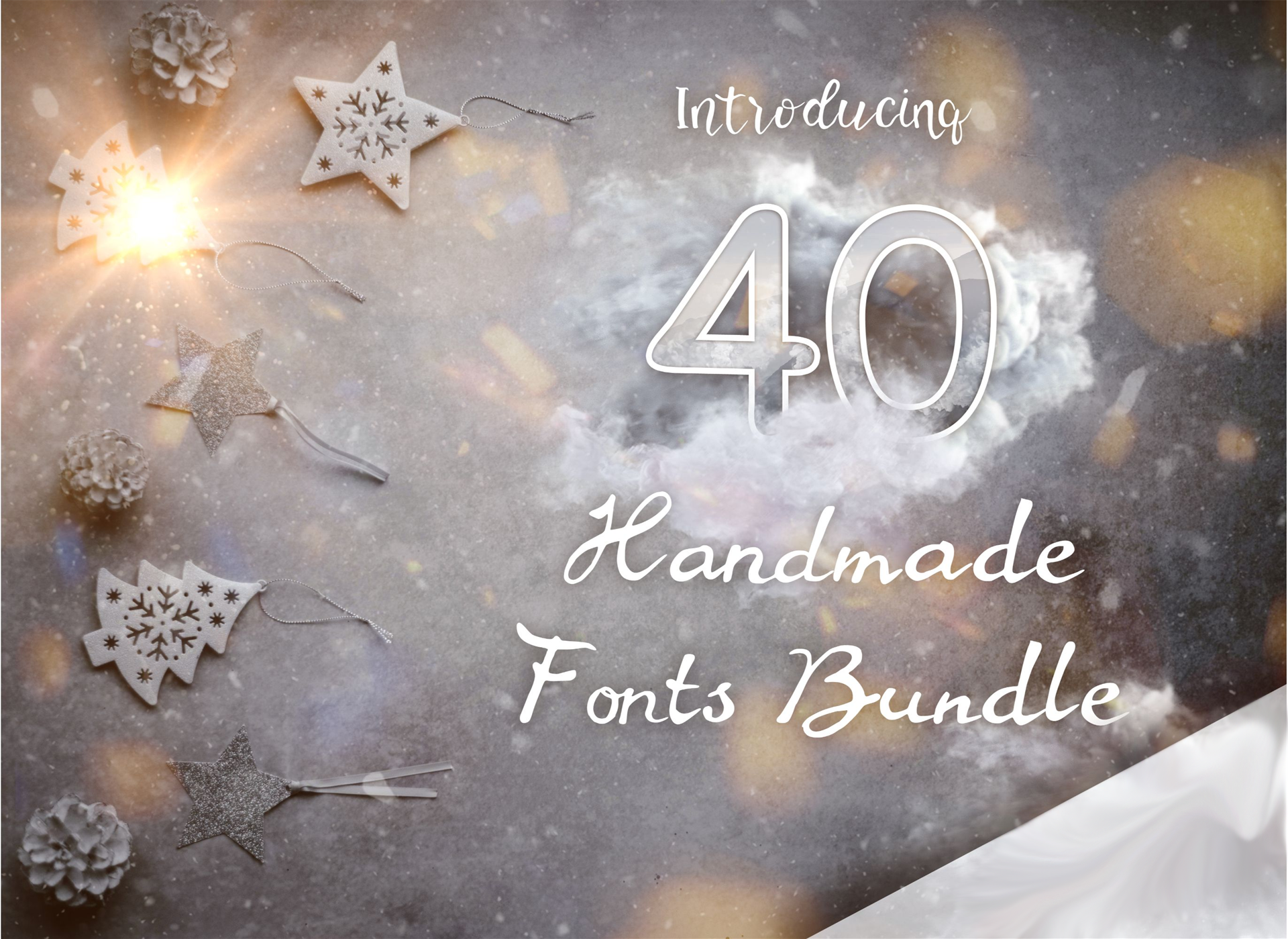 40 Handmade Fonts Screenshot
