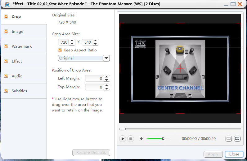 4Media DVD Ripper Ultimate, DVD Ripper Software Screenshot