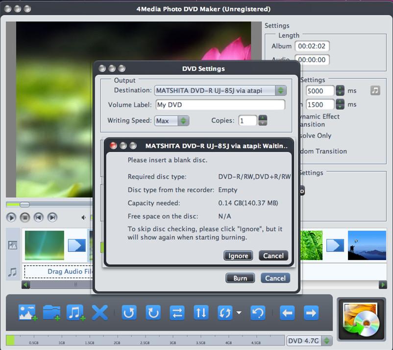 4Media Photo DVD Maker Screenshot