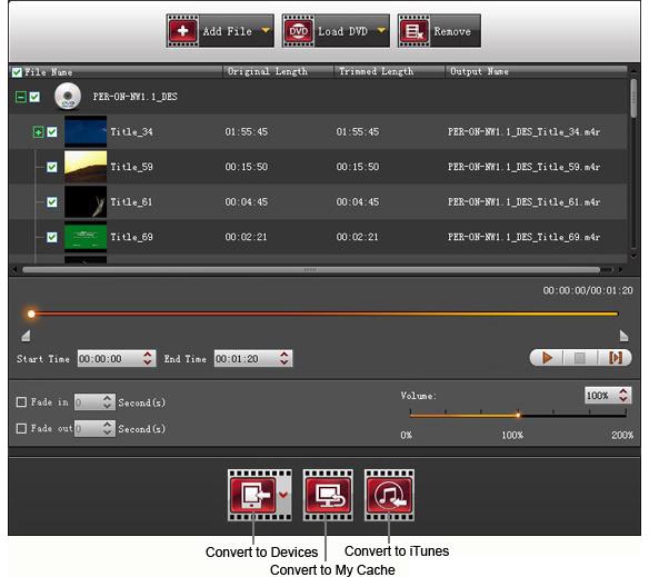 4Videosoft iPad Manager, Audio Software Screenshot