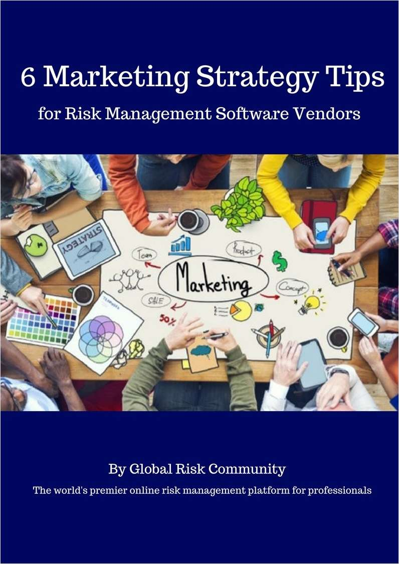 6 Marketing Strategy Tips for Risk Management Software Vendors Screenshot