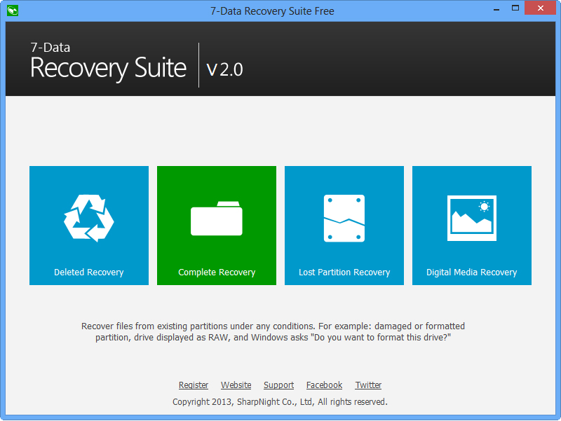 7-Data Recovery Suite [PRO] Screenshot