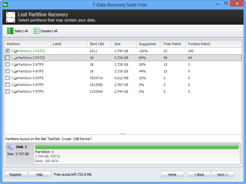 Recovery Software, 7-Data Recovery Suite [PRO] Screenshot