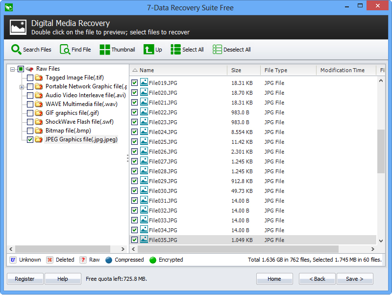 7-Data Recovery Suite [PRO], Software Utilities Screenshot