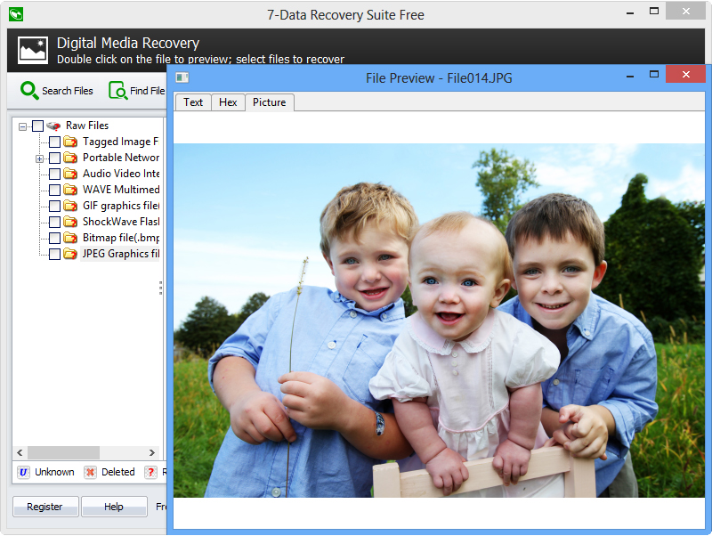 7-Data Recovery Suite [PRO], Recovery Software Screenshot