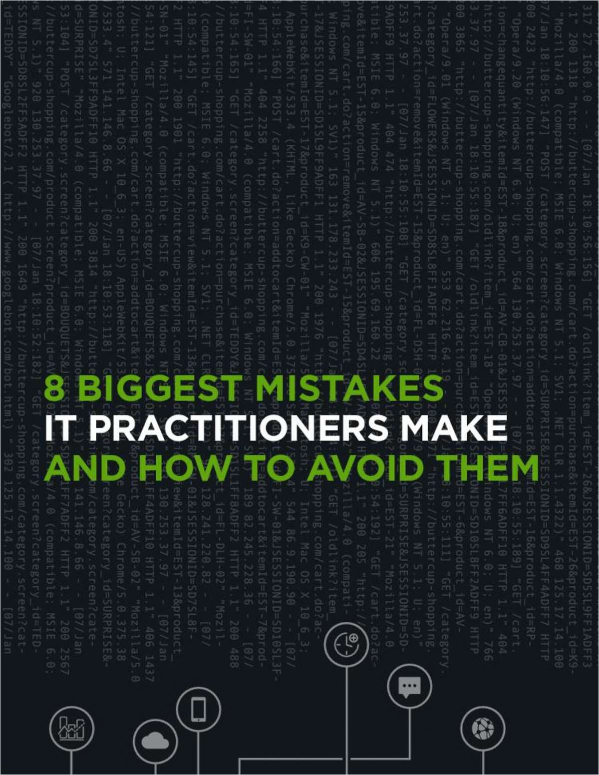 8 Biggest Mistakes IT Practitioners Make and How to Avoid Them Screenshot