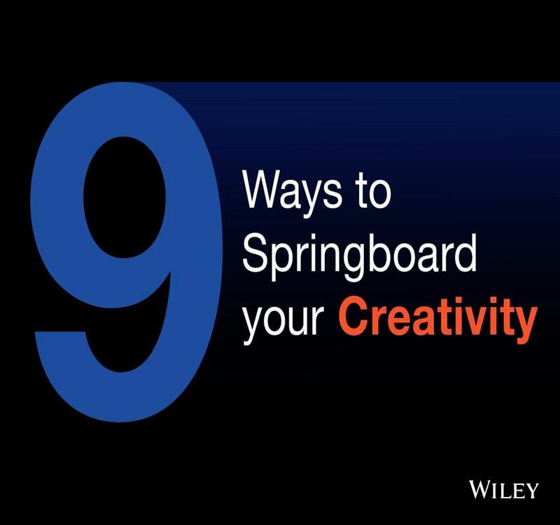 9 Ways to Springboard your Creativity Screenshot