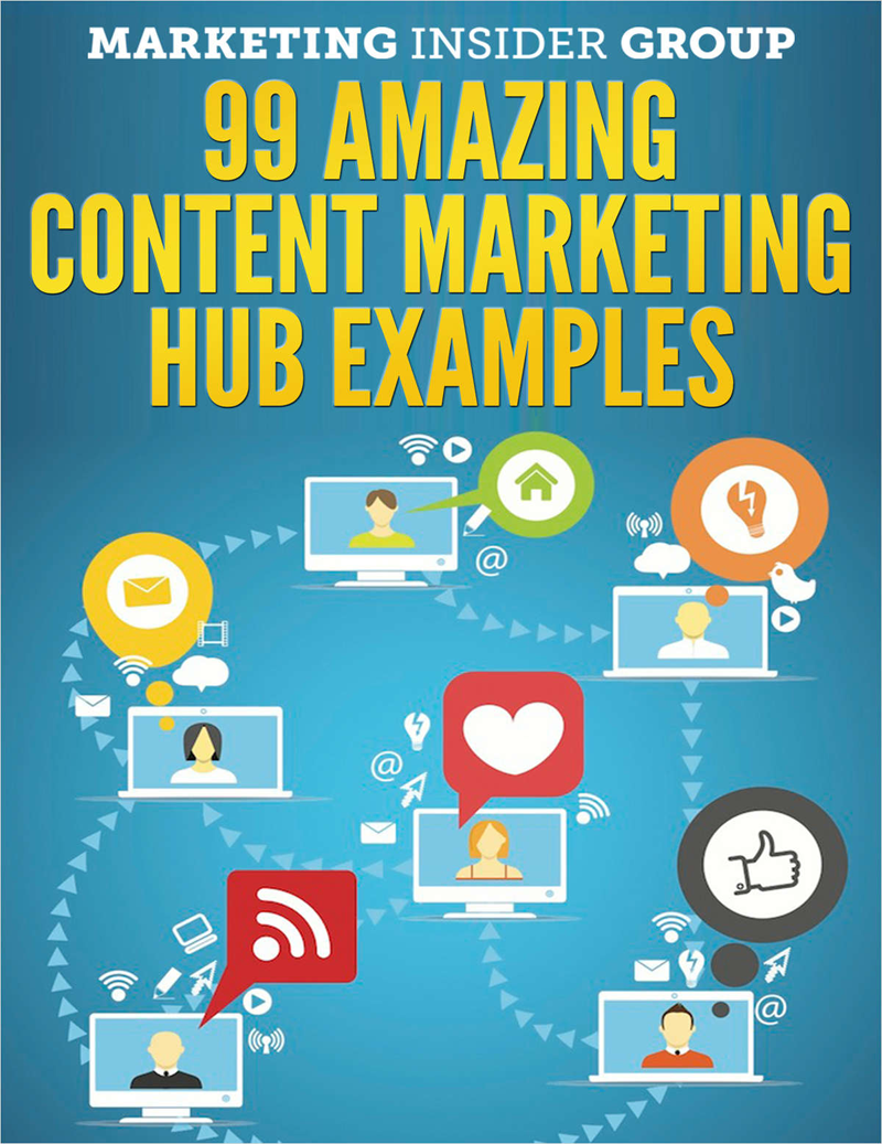 99 Amazing Content Marketing Hub Examples Screenshot
