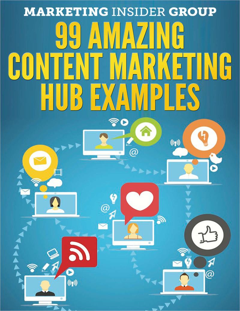 99 Amazing Content Marketing Hub Examples Screenshot