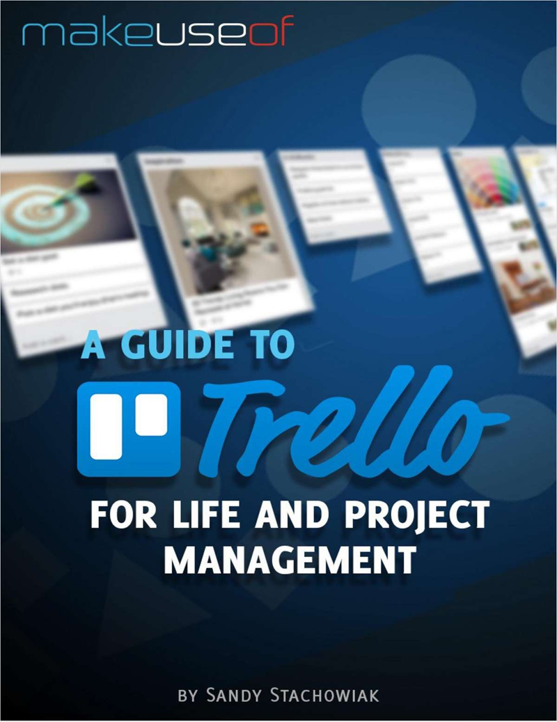 A Guide to Trello: For Life and Project Management Screenshot