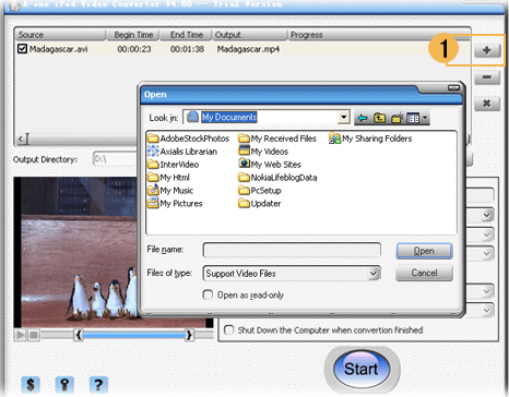 A-one iPod Video Converter Screenshot