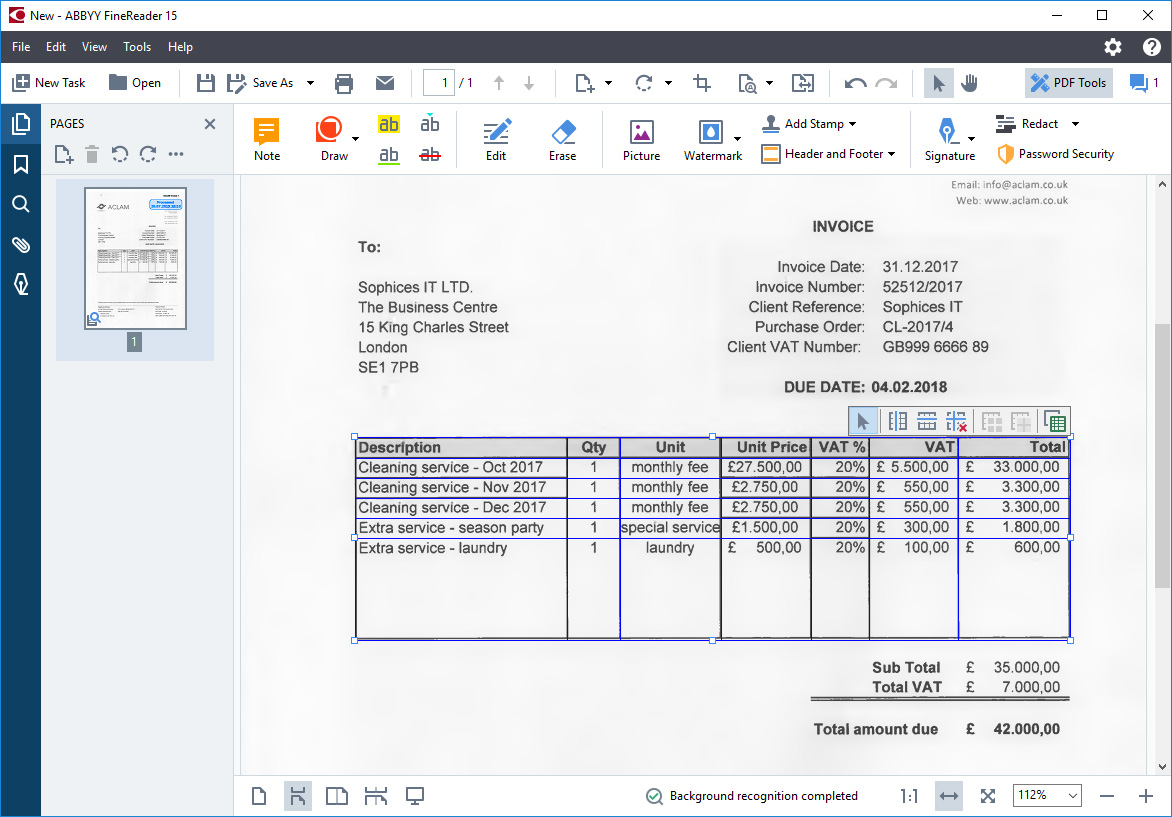 Business & Finance Software, PDF Utilities Software Screenshot
