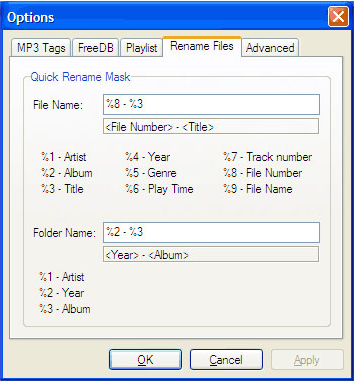 ABF Audio Tags Editor, Audio Software Screenshot