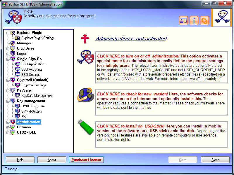 Security Software, General Security Software Screenshot