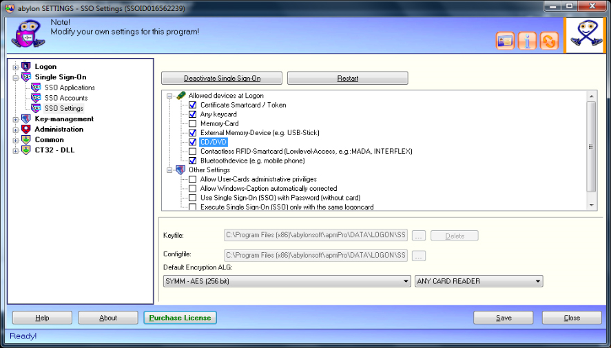 abylon LOGON Screenshot 8