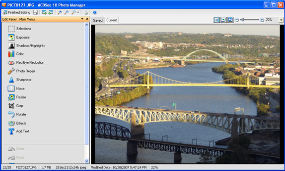 ACDSee 10, Image Viewer Software Screenshot