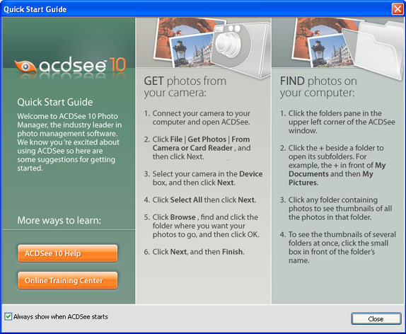 ACDSee 10 Screenshot