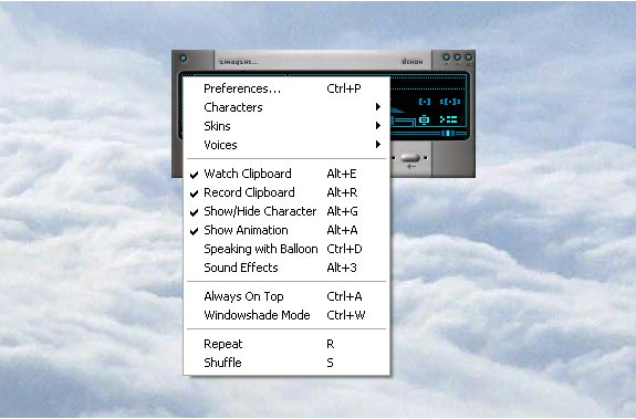 Text to Speech Software Screenshot
