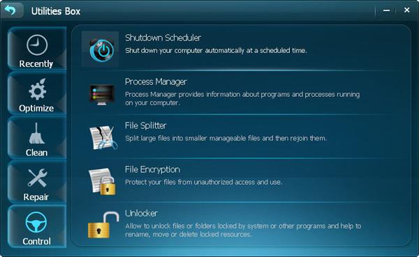Acebyte Utilities lifetime/1 PCs, Software Utilities Screenshot