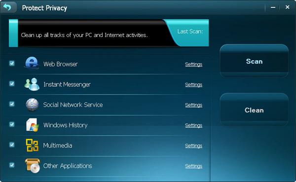 System Tweaker Software, Acebyte Utilities lifetime/1 PCs Screenshot