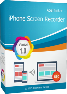 Video Capture Software, AceThinker iPhone Screen Recorder Screenshot