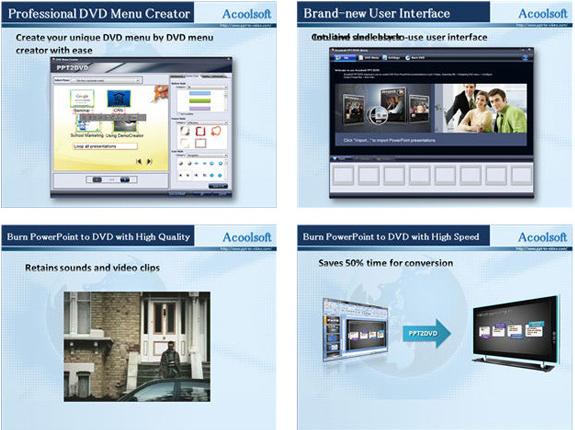 Development Tools Software, Acoolsoft PPT2Video Converter Screenshot