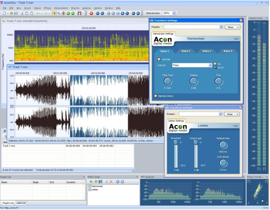 Acoustica Standard Edition Screenshot