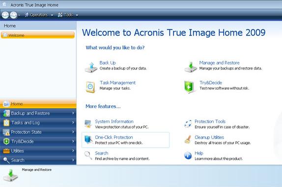 Backup Disk Image Software Screenshot
