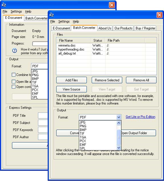 ActMask Document Converter Pro Screenshot