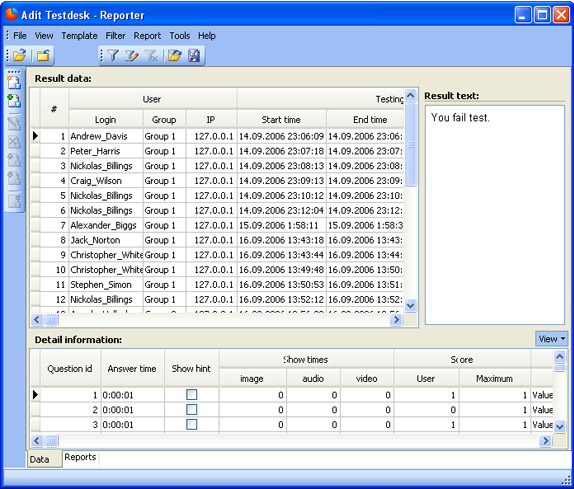 Adit Testdesk, Hobby, Educational & Fun Software Screenshot