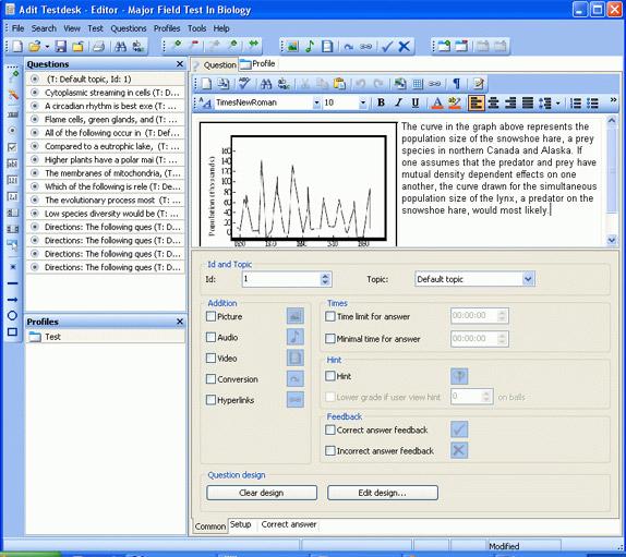Adit Testdesk Screenshot