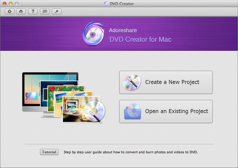 Adoreshare DVD Creator Mac - DVD Ripper Software - 50% off Mac