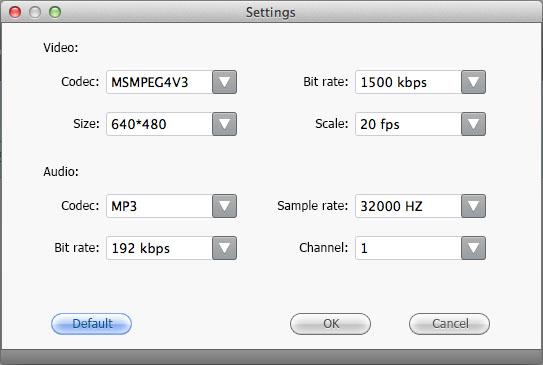 Adoreshare Video to iMovie Converter for Mac, Video Converter Software Screenshot