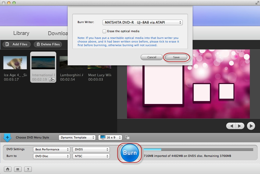 Adoreshare VTools for Mac, Video Software Screenshot