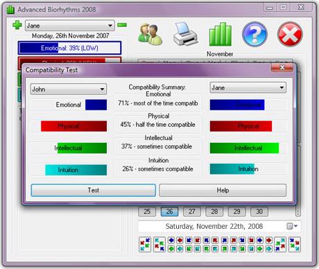 Lifestyle Software Screenshot