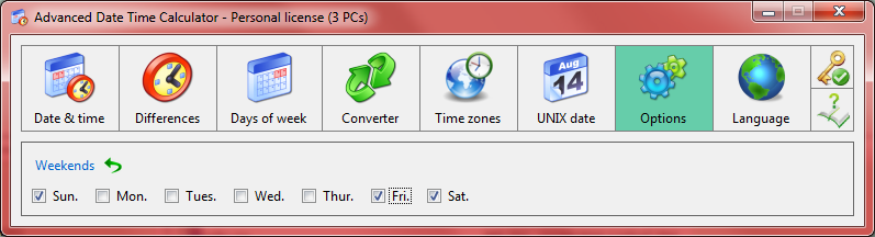 Productivity Software, Calculator Software Screenshot