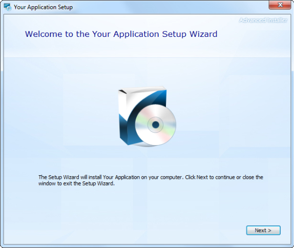 Advanced Installer Professional, Development Software Screenshot