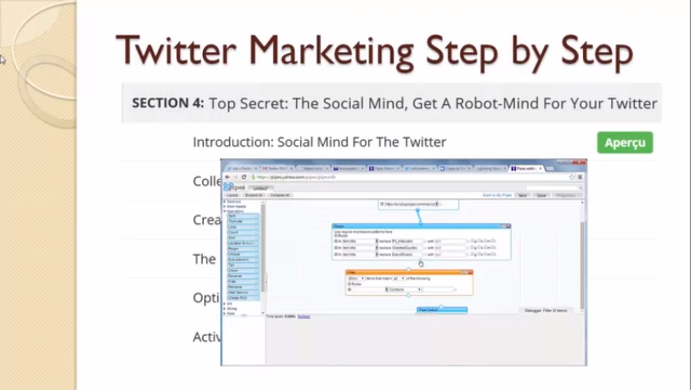 Advanced Twitter Marketing Techniques: Twitter For Small biz, Hobby, Educational & Fun Software Screenshot