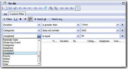 Agenda At Once, PIM Software Screenshot