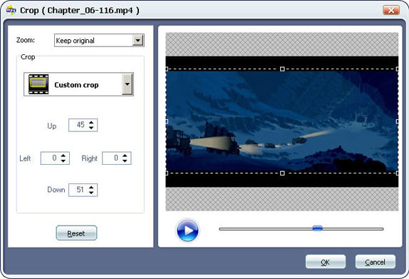 Aimersoft DVD to MP4 Converter, DVD Ripper Software Screenshot
