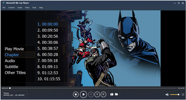 Video Player Software, Aiseesoft Blu-ray Player Screenshot