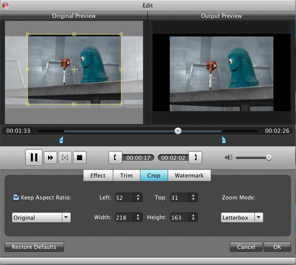 Aiseesoft MXF Converter Screenshot 9