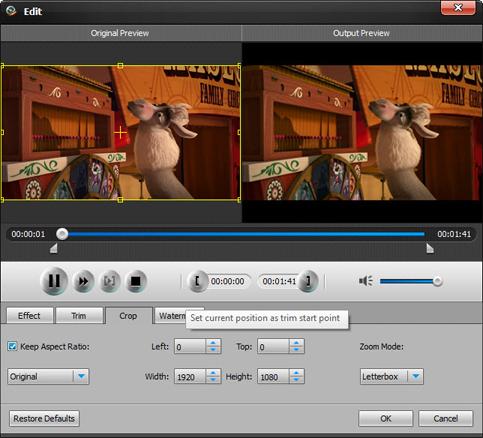 Aiseesoft Total Video Converter, Video Software Screenshot