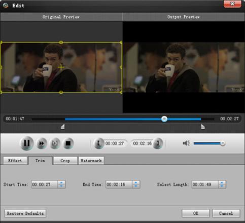 Aiseesoft Total Video Converter, Video Converter Software Screenshot