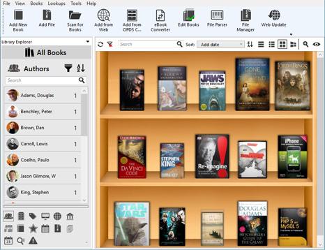 Alfa Ebooks Manager Professional Screenshot