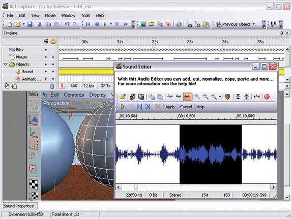 Video Capture Software, ALLCapture 3.0 Screenshot