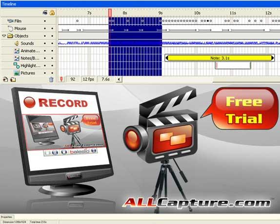 ALLCapture Enterprise Screenshot