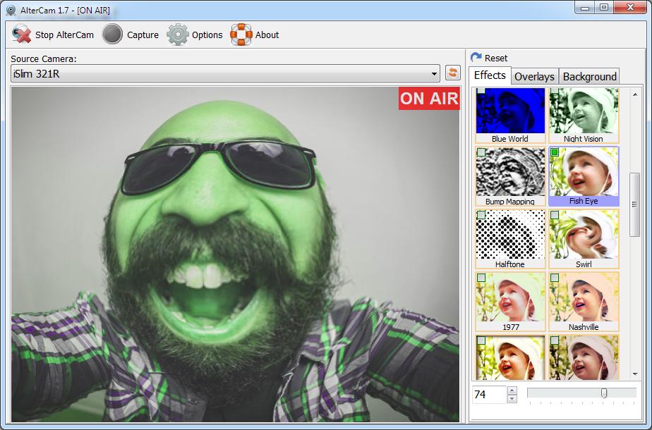 AlterCam Screenshot
